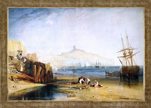 Art Oyster Joseph William Turner Scarborough Town Castle: Morning: Boys Catching Crabs - 18.1