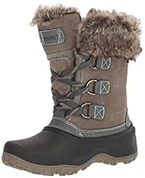 Khombu Womens The Slope Winter Snow Boots (10, Grey)