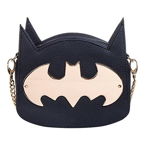 Cartera de mano para mujer Batman - Gotham Gold/Logotipo