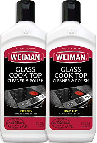 Weiman Cooktop Cleaner and Polish 10 Ounce 2 ()