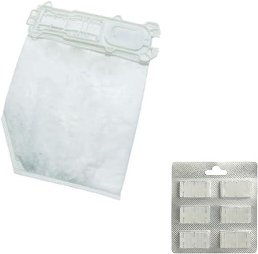 12 bolsas de aspiradora + 12 aromas para Kobold VK 135, 136: Amazon.es: Hogar