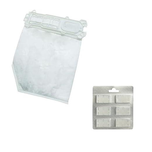 12 bolsas de aspiradora + 12 aromas para Kobold VK 135, 136 ...
