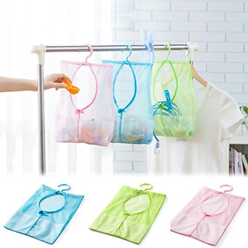 greensuntm-kitchen-bathroom-clothesline-storage-dry-doll-pillow-shelf-mesh-shower-bag-hook-storage-r
