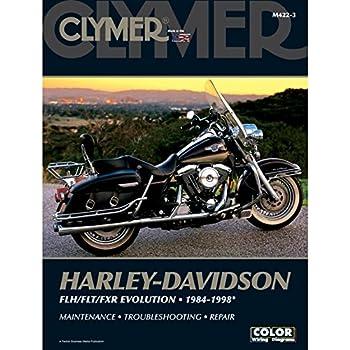 Amazon Clymer Harley Davidson Fxd Twin Cam 88 1999 2005