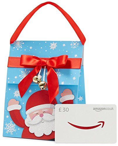 Amazon.co.uk Gift Card – In a Santa Gift Bag – FREE One-Day Delivery