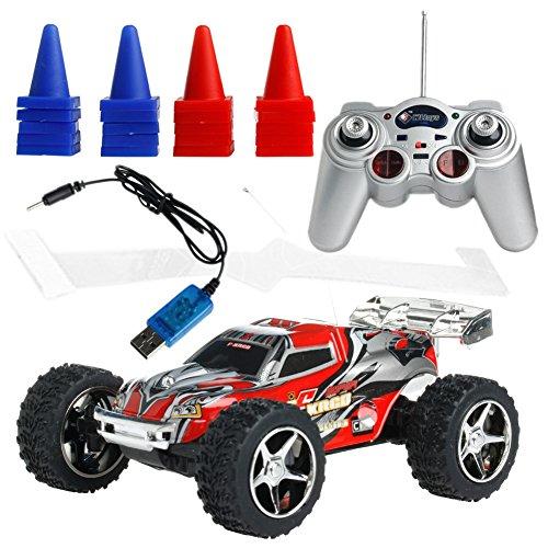 Wrisky NEW 1:32 Radio Remote Control RC RTR High Speed Mini Racing Truck Car Buggy Toy