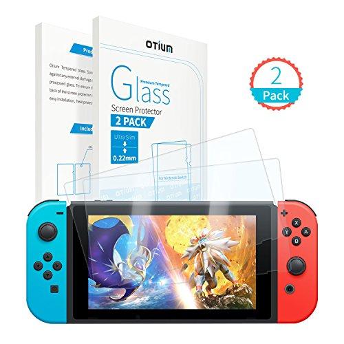 Nintendo Protector Tempered Otium Installation%EF%BC%882 Pack%EF%BC%89 product image
