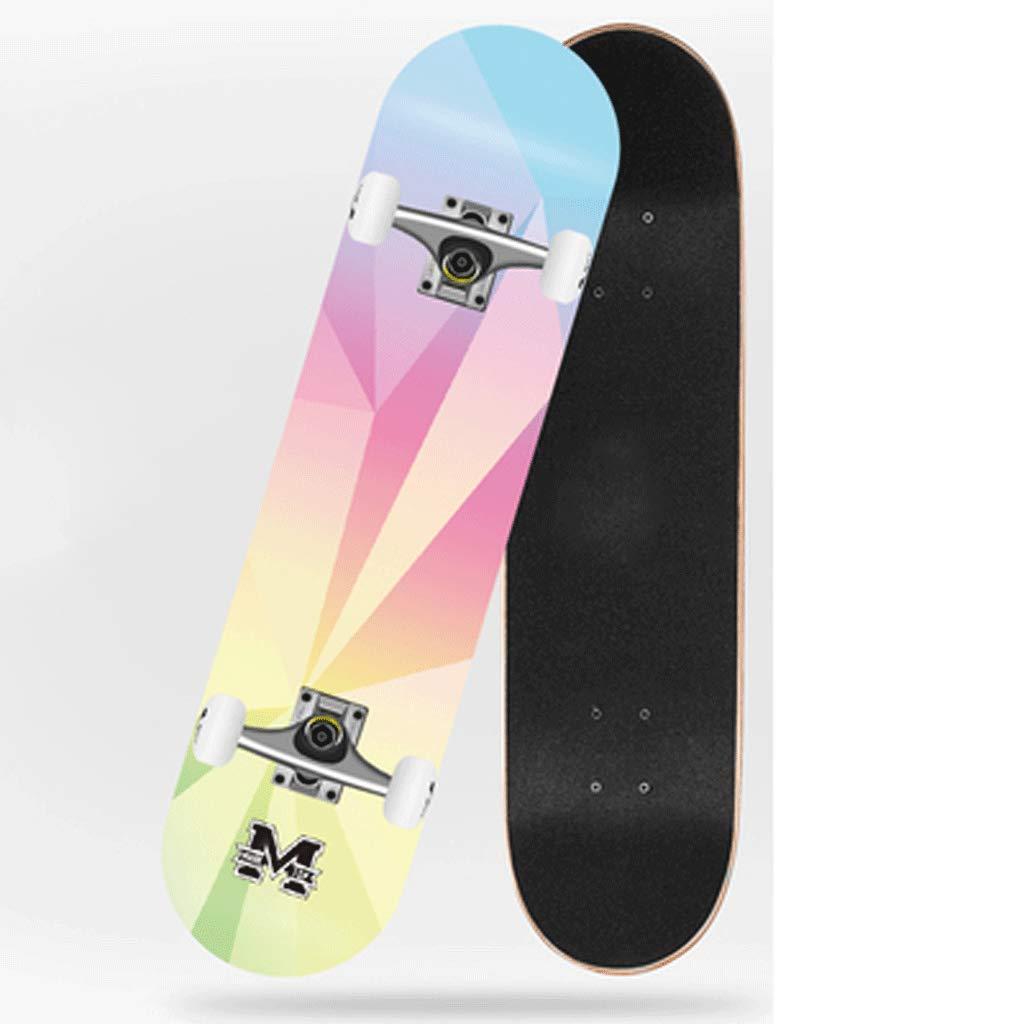 【受注生産品】 ストリートスキル4輪ダブルスケートボード初心者子供スケートボード大人の女の子ボーイズ旅行 (色 : Deep sea) : B07KXNH5N5 Deep Aurora Aurora Aurora, 静岡グルメ セレクトフードコパン:76860c11 --- a0267596.xsph.ru