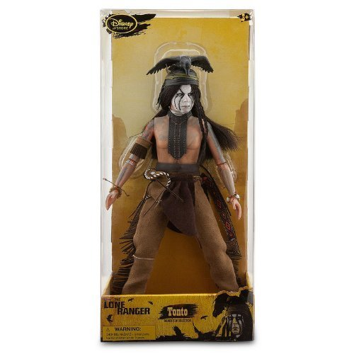 Tonto Deluxe Action Figure  12''  The Lone Ranger by Disney