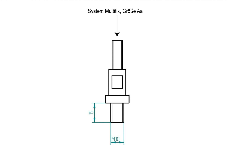 Gr/ö/ße Aa f/ür SIEG C2 und SC2 PAULIMOT Montage-Set SystemMultifix