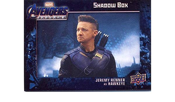 2020 Upper Deck Avengers Issue des légendes ne meurent jamais Jeremy Renner Hawkeye Auto