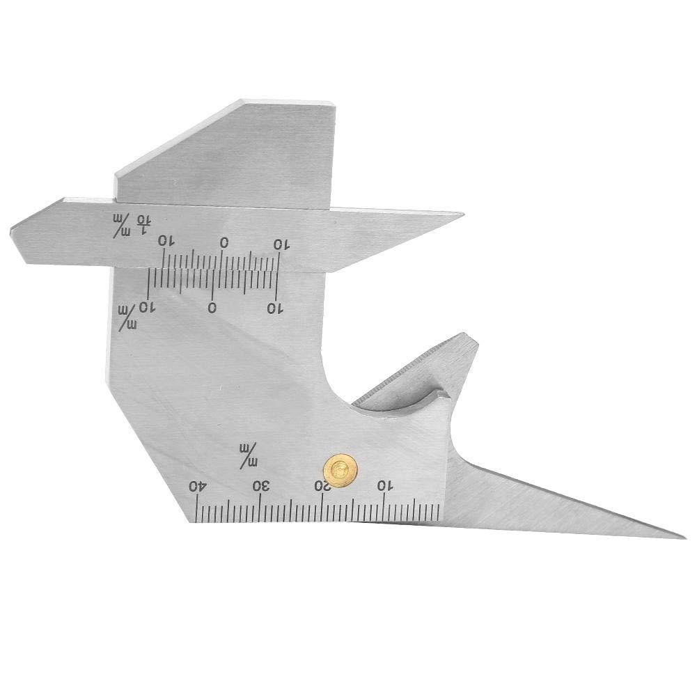 Welding Seam Gauge Durable Practical for Welding Equipment Welding Supplies Welding Seam Ruler
