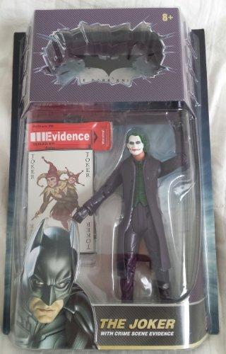 Mattel Dark Knight Action Figures:The Joker with Crime Scene -