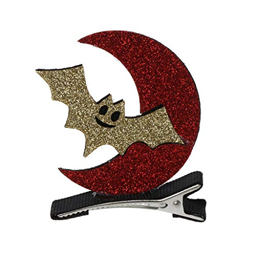Shaoge Glitter Halloween Hairpins Ghost Pumpkin Kids Girls Hairpins Hair Clip Accessories ()
