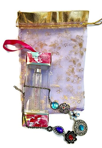 Mother's day Gift set, Includes Taylor Swift Perfume Spray & a beautiful Necklace in a pouch