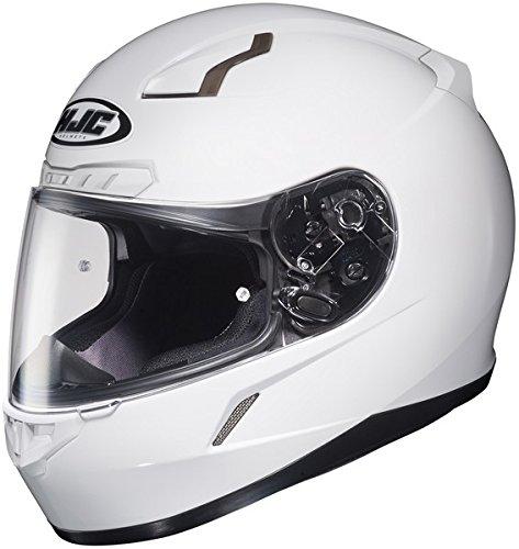 Hjc Cl-17 White SIZE:XXL Full Face Motorcycle Helmet