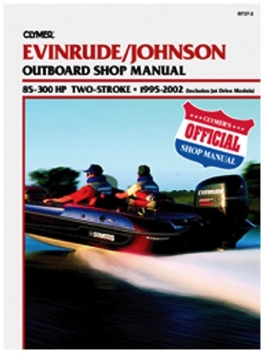 Clymer J/E 85 300Hp Outboard Manual (Includes Jet Drive M...