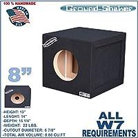 JL Audio W7 8 Single Sealed Reinforced Sub Box