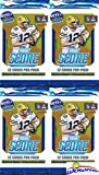 2018 Score NFL Football Lot of FOUR(4) Factory Sealed Packs with 48 Cards! Loaded with ROOKIES & INSERTS! Look for RCS…