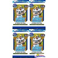 2018 Score NFL Football Lot of FOUR(4) Factory Sealed Packs with 48 Cards! Loaded with… photo