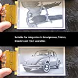 Black White Flexible E-Paper Display E-Ink Screen