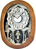 Brand New Joyful Encore By Rhythm Clocks - 18 Tunes - Musical - New! - 4MH847WD06