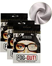 Anti-Fog Cloth, Microfiber Cleaning Cloth, Lens Wipes Reusable 1000 Times and Lasts for 48h for Eyeglasses & Glass, Camera Lens, Cell Phones, Laptops, LCD TV Screens, Defogger Wipe for Goggles