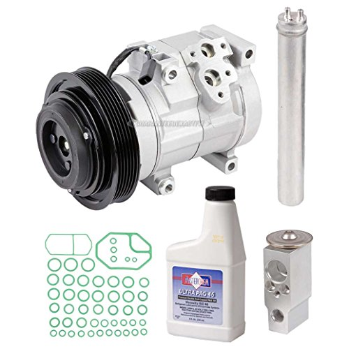 New AC Compressor & Clutch With Complete A/C Repair Kit For Honda Accord V6 - BuyAutoParts 60-80262RK New