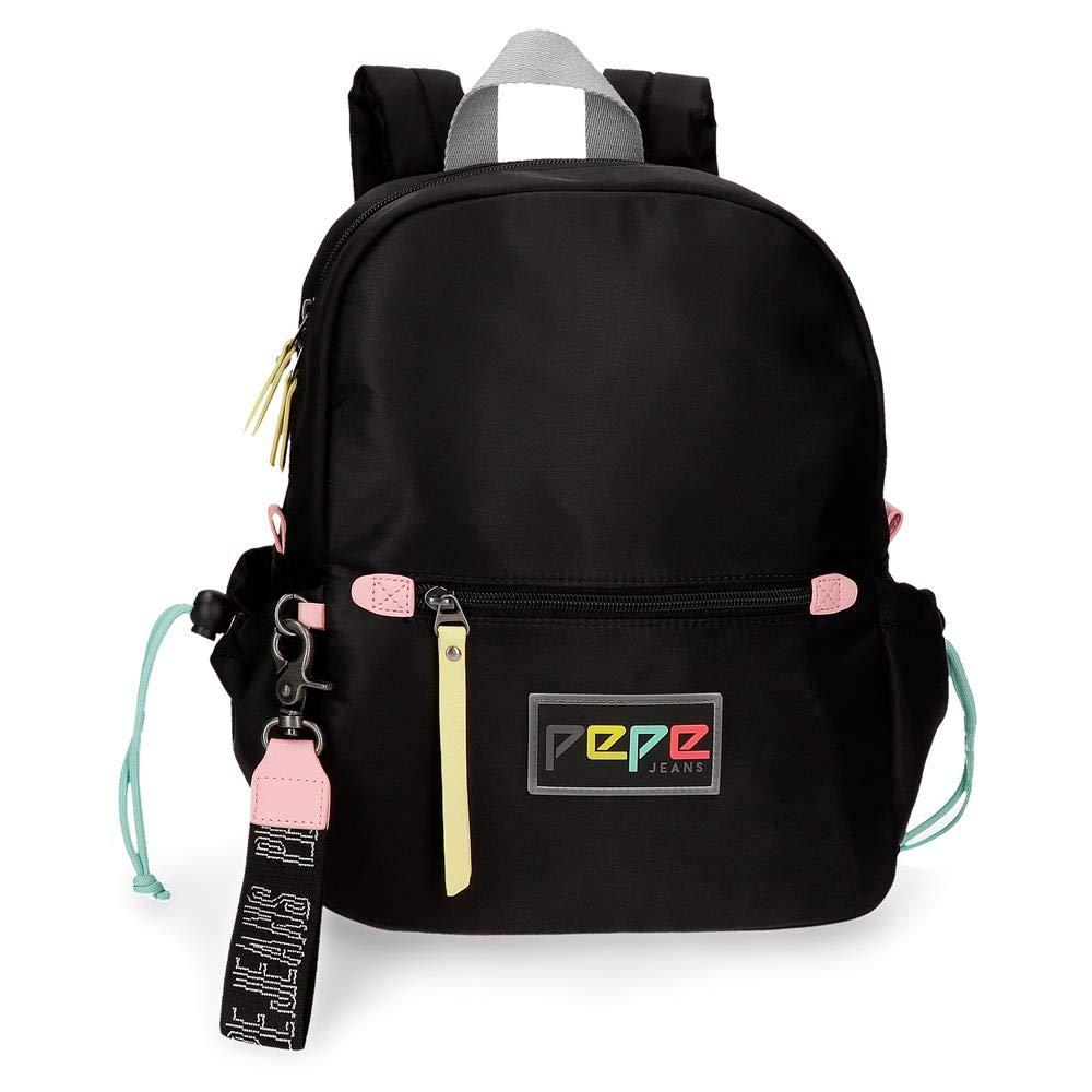 Pepe Jeans Mindバックパック、ブラック(ブラック) - 7532262   B07N26RFCZ