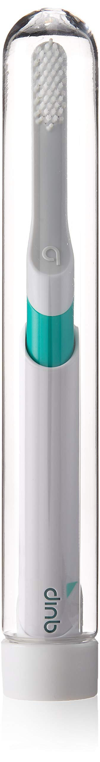 Quip Electric Toothbrush - Green Color - Electric Brush and Travel Cover Mount - Frustration Free Packaging by Quip