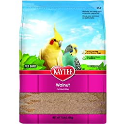 Kaytee Walnut Bedding and Litter Pad for Pets, 7-Pound
