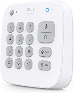eufy Security Keypad, Home Security System, Home Alarm System, 180-Day Battery, Home/Away/Off Modes, Security System Wireless, Requires eufy Security HomeBase, Control HomeBase-Connected Devices