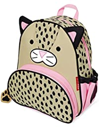 "Toddler Backpack, 12"" Leopard School Bag, Multi"