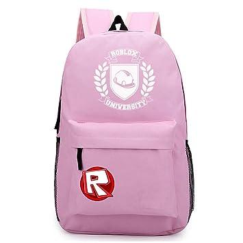 NINIUBAL Unisex Roblox Estudiantes Mochila de Colegio Viaje Mochilas Escolares Juveniles Paquete de Asalto al Aire Libre Deporte: Amazon.es: Equipaje