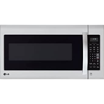 LG LMV2031ST 2.0 Cubic Feet Over-The-Range Microwave Oven, Stainless Steel