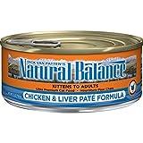 Natural Balance Chicken & Liver Paté Formula Wet C...