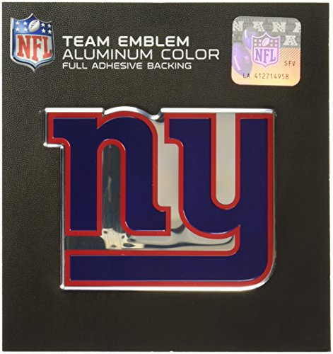 Team ProMark NFL New York Giants Die Cut Color Automobile Emblem