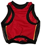 Sporty K9 Miami Heat Basketball Dog Jersey, Medium/Large