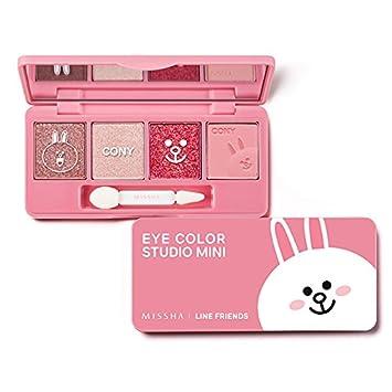 Shimmer & Satin Eyeshadow Palette (Missha x Line Eyeshadow Palette)