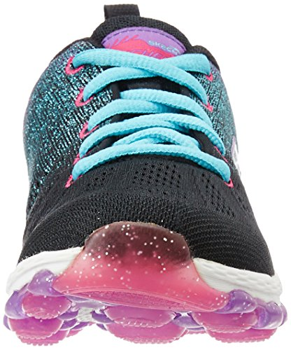 Skechers Skech Air Ultra - Zapatillas de deporte para niñas Negro (Black/Multi)