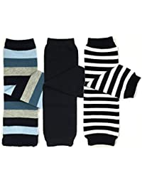 3 Pair Baby and Toddler Leg Warmers