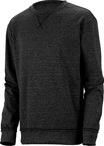 Augusta Sportswear Men's French Terry Sweatshirt, Heritage Onyx, XX-Large