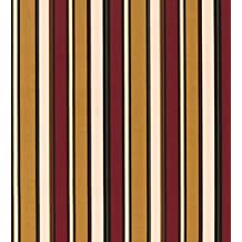 Sale! Weather-Resistant Outdoor Fabric Sold By The Yard, in Black Stripe