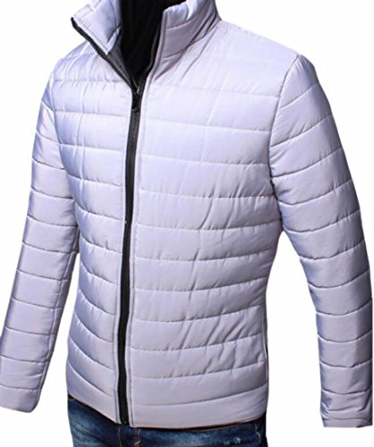 Waterproof Coat Down Lightweight Zipper Winter Men UK Hot Down Jacket Grey Brd Puffer wnxZq1nUaP