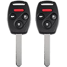Scitoo 2 New Replacement Uncut Ignition Key Keyless Entry Remote Fob 850G-G8D380HA