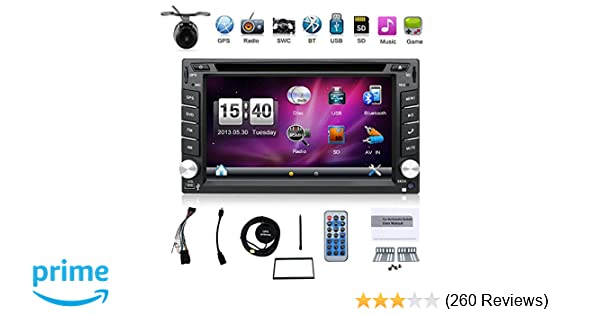 Amazon.com: Hot selling product 6.2-inch Double DIN in Dash Car Dvd Player Car Stereo Touch Screen with Bluetooth USB Sd Mp3 Radio for Universal Car Free ...