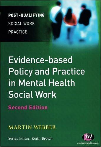 ผลการค้นหารูปภาพสำหรับ Evidence based policy and Practice in Mental Health Social Work