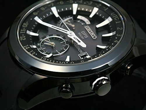 Amazon.com: Seiko Astron Satellite Solar GPS Silicon Band Sapphire glass SBXA011(Japan Import): Watches