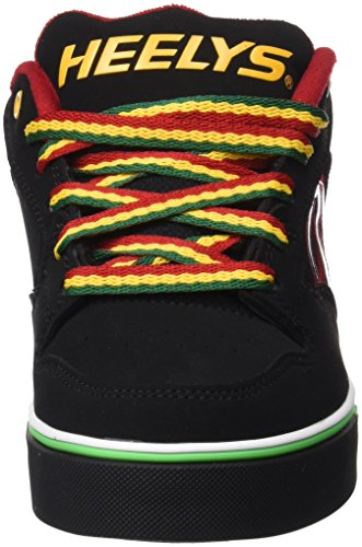 Heelys Motion Plus (770533) - Zapatillas para niños, color Red/Black/Grey/Skulls, talla 31 Varios colores (Black Reggae)