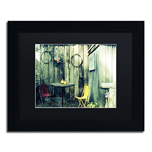 picture of Trademark Fine Art from the Past I by Beata Czyzowska Young Black Matte and Black Frame, 11 by 14-Inch